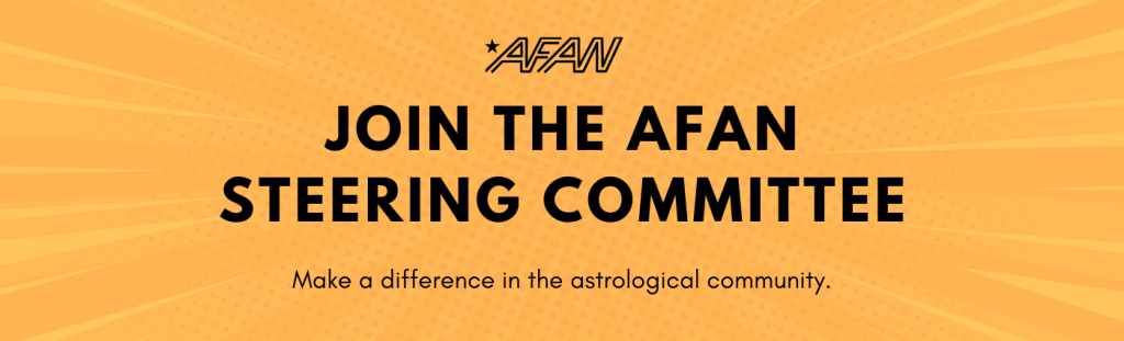 Apply to join the AFAN Steering Committee and make a difference in the astrological community